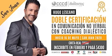 Doble Certificación en Comunicación No Verbal con Coaching Dialéctico | SJ entradas
