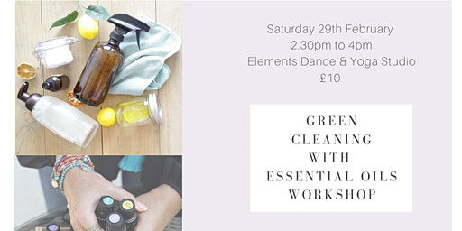 Green Cleaning With Essential Oils workshop