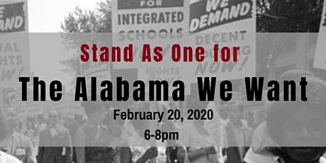 The Alabama We Want Launch Event tickets