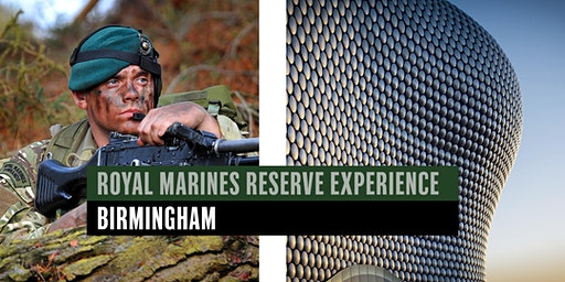 Royal Marines Reserve Experience event - Birmingham
