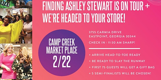 Finding Ashley Stewart 2020 Tour – Atlanta Stop