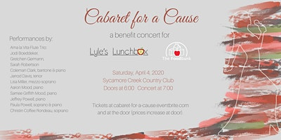 Cabaret for a Cause - A concert and silent auction feeding hungry children