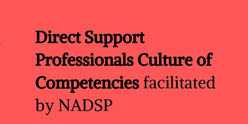 Direct Support Professional Forum