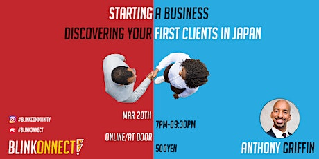 Starting a Business: Discover Your First Clients in Japan tickets