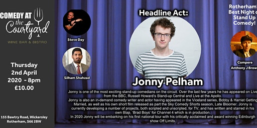 Comedy Night with Jonny Pelham