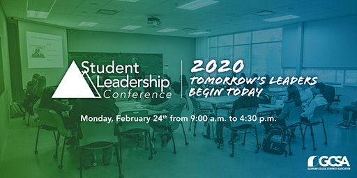 Student Leadership Conference 2020: Tomorrow's Leaders Begin Today!