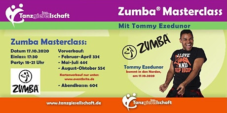 Zumba Masterclass Tickets