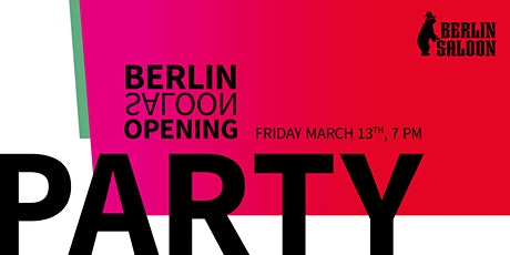 BerlinSaloon 2020 Opening Party tickets