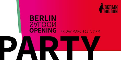 BerlinSaloon 2020 Opening Party