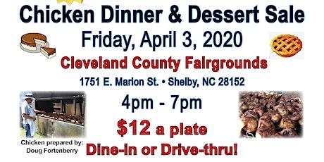 Hospice Chicken Dinner & Dessert Sale tickets