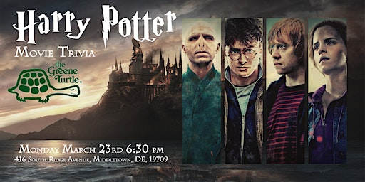 Harry Potter Movies Trivia at The Greene Turtle Middletown