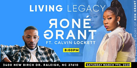 LIVING LEGACY: Rone Grant & Friends ft. Calvin Lockett tickets