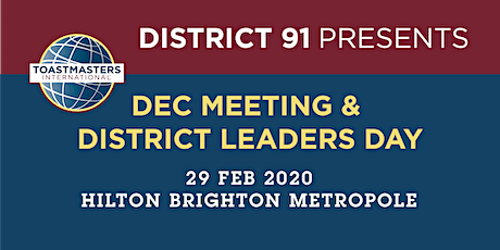 District 91 DEC Meeting & District Leaders Day tickets