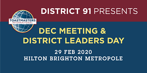 District 91 DEC Meeting & District Leaders Day