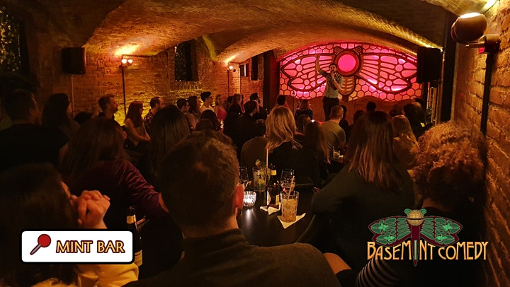 SUNDAY •  BaseMINT Comedy • Stand-Up in English image