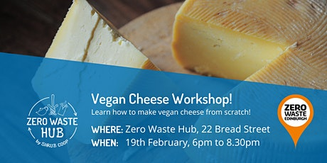 Vegan Cheese Workshop tickets