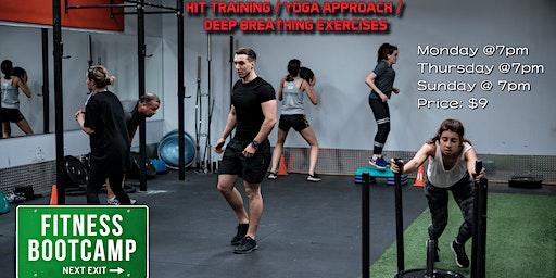 Hit training / Flexibility and Deep breathing exercises