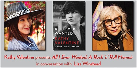 Kathy Valentine presents All I Ever Wanted (with Lizz Winstead) tickets