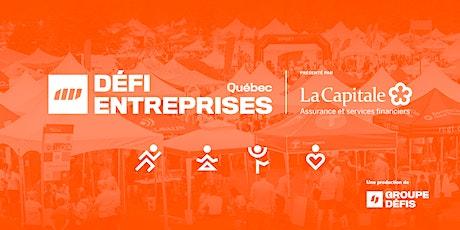 Bénévoles au Défi Entreprises Québec 2020 billets