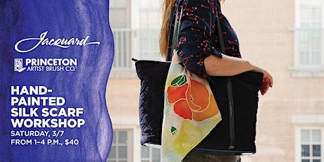 Hand-Painted Silk Scarf Workshop at Blick Philadelphia tickets