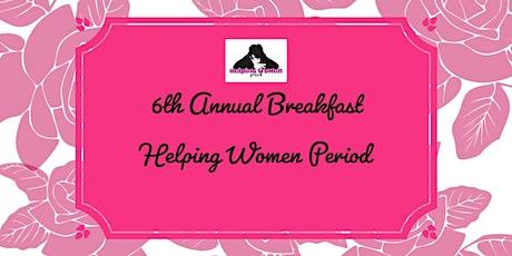 6th Annual Helping Women Period GROW! Breakfast tickets