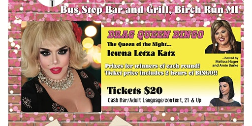 Drag Queen Bingo - Bus Stop Bar and Grille