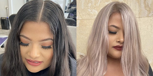 Bleach and tone