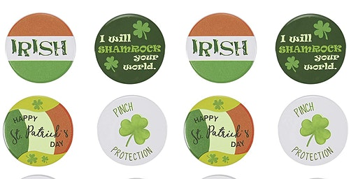 Button Making Class: St. Patrick's Day/ Spring