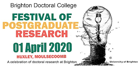 Doctoral College Festival of Postgraduate Research 2020 tickets