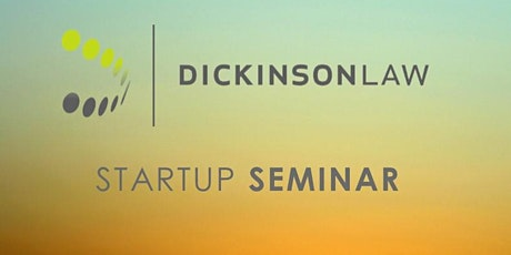 Dickinson Law Startup Seminar & Happy Hour tickets