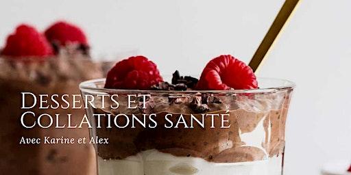 Desserts et collations santé