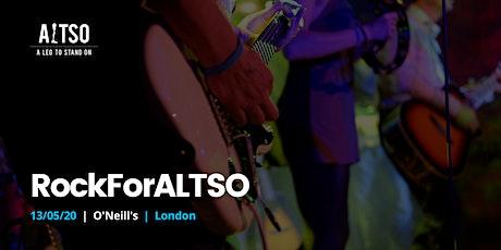 RockForALTSO - London tickets