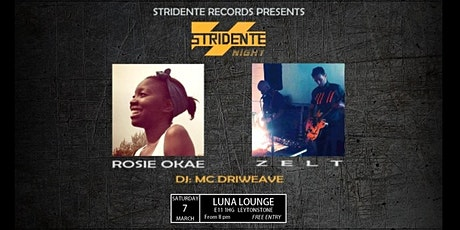 StridenteNight #1: ROSIE OKAE and ZELT tickets