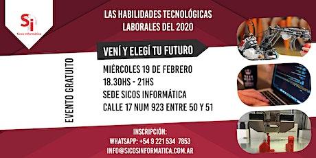 Las habilidades laborales tecnológicas en el 2020 entradas