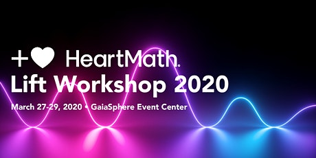 HeartMath - Lift Workshop 2020 tickets