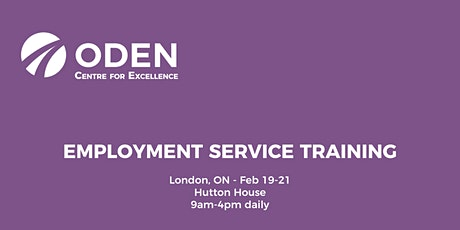ODEN 3-Day Employment Service Training - London tickets