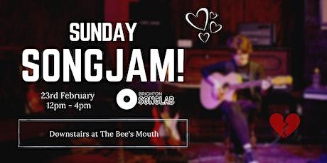 Sunday SongJam!: Songwriting Workshop tickets