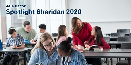 Spotlight Sheridan 2020 - Dufferin-Peel Catholic DSB (Wednesday) tickets