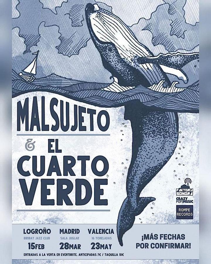 Imagen de El Cuarto Verde + Malsujeto - Logroño