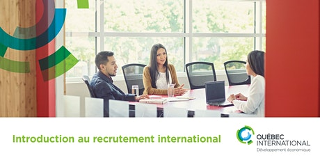 Introduction au recrutement international tickets