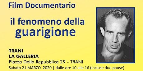 IL FENOMENO DELLA GUARIGIONE tickets