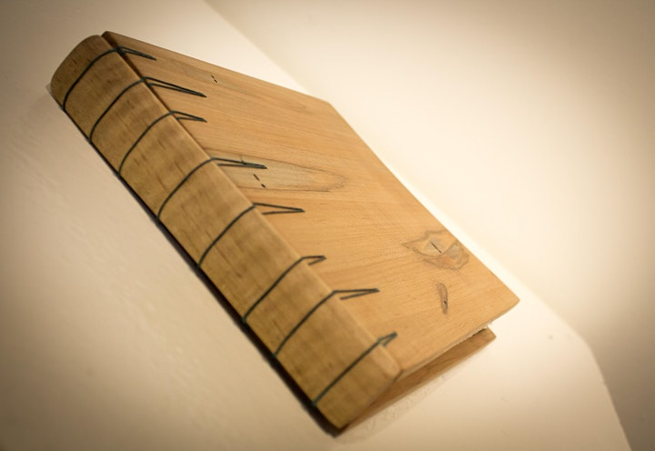 Visiting Artist: Secret Belgian Binding with Wood Covers with Anne Murray image