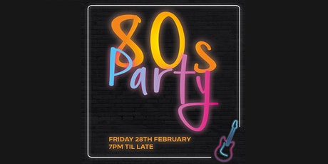 Hilton Bournemouth's 80's Party Night tickets