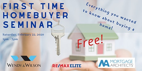 First Time Homebuyer Seminar - Valuable info on buying your first HOME tickets