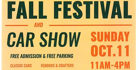 Fall Festival and Car Show tickets