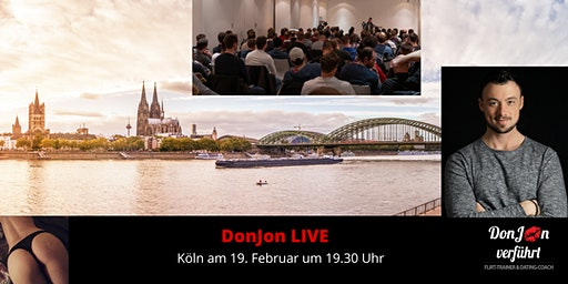 DonJon LIVE in Köln