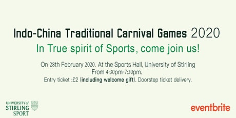 Indo China Traditional Carnival Games 2020 tickets
