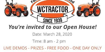 WC Tractor Open House