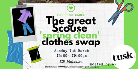 The great Scouse clothes swap - Liverpool Cares tickets