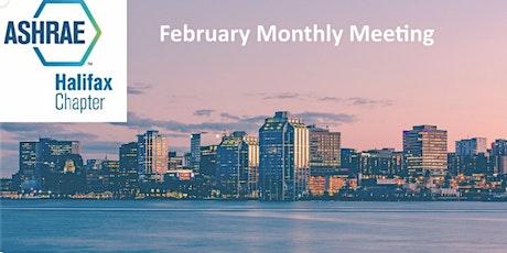 ASHRAE Halifax February Monthly Meeting tickets